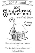 Gingerbread Wonderland Entry Brochure