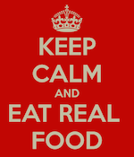 KeepCalmandEatRealFood-th